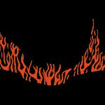 Logoart Flammlachs Mann