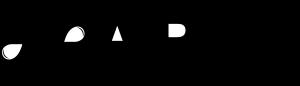 LP Arts Logo/Schwarz auf Transparent